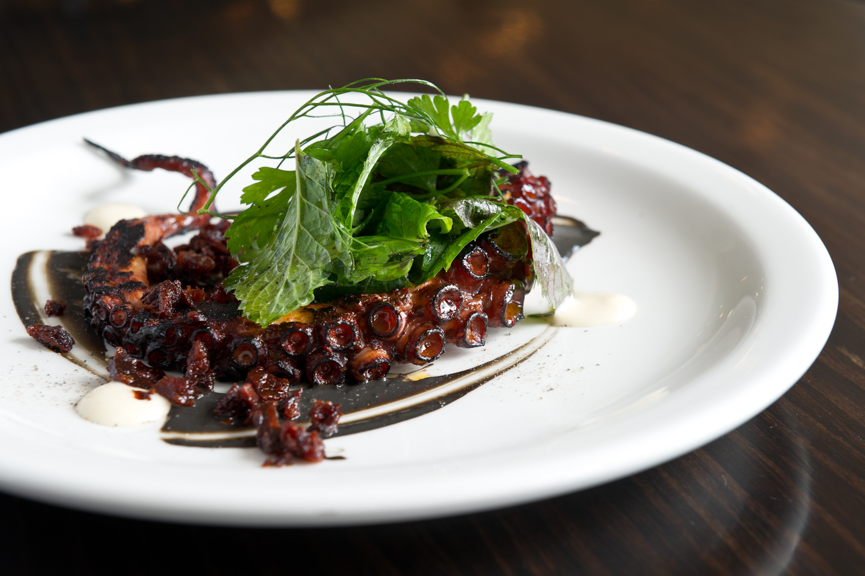 NYC Food Photographer - Octopus A La Plancha