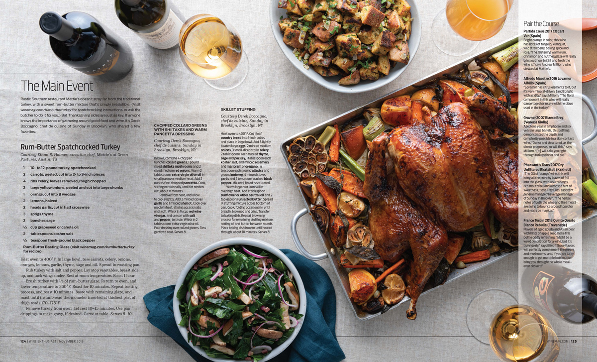 NYC + Chicago Food Photographer - Thanksgiving Turkey