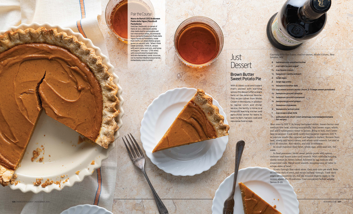 NYC + Chicago Food Photographer - Thanksgiving Pie