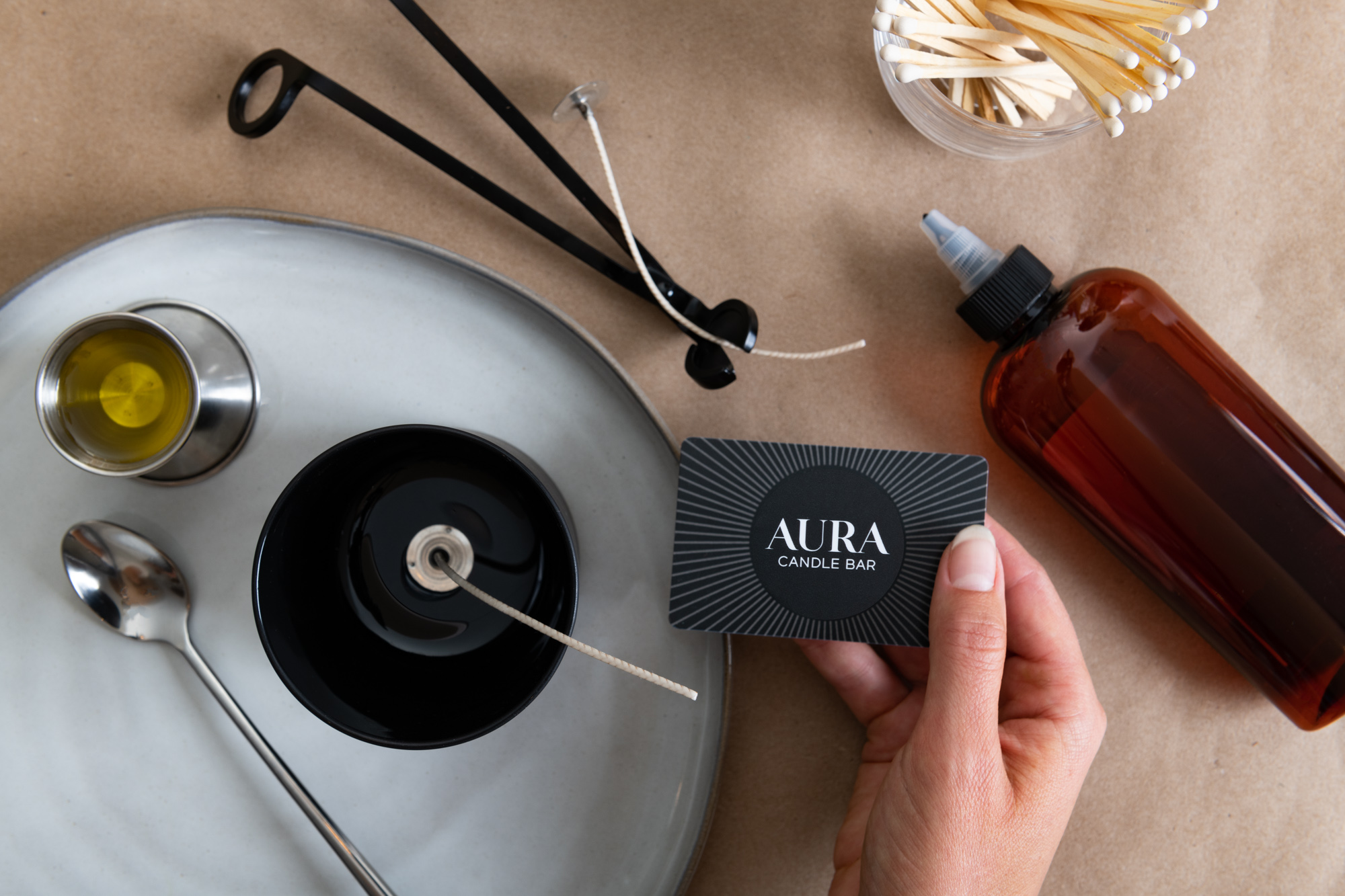 Aura Candle Bar, interior photographer, product photography, morgan ione photography, social content, lifestyle product, chicago commercial photographer