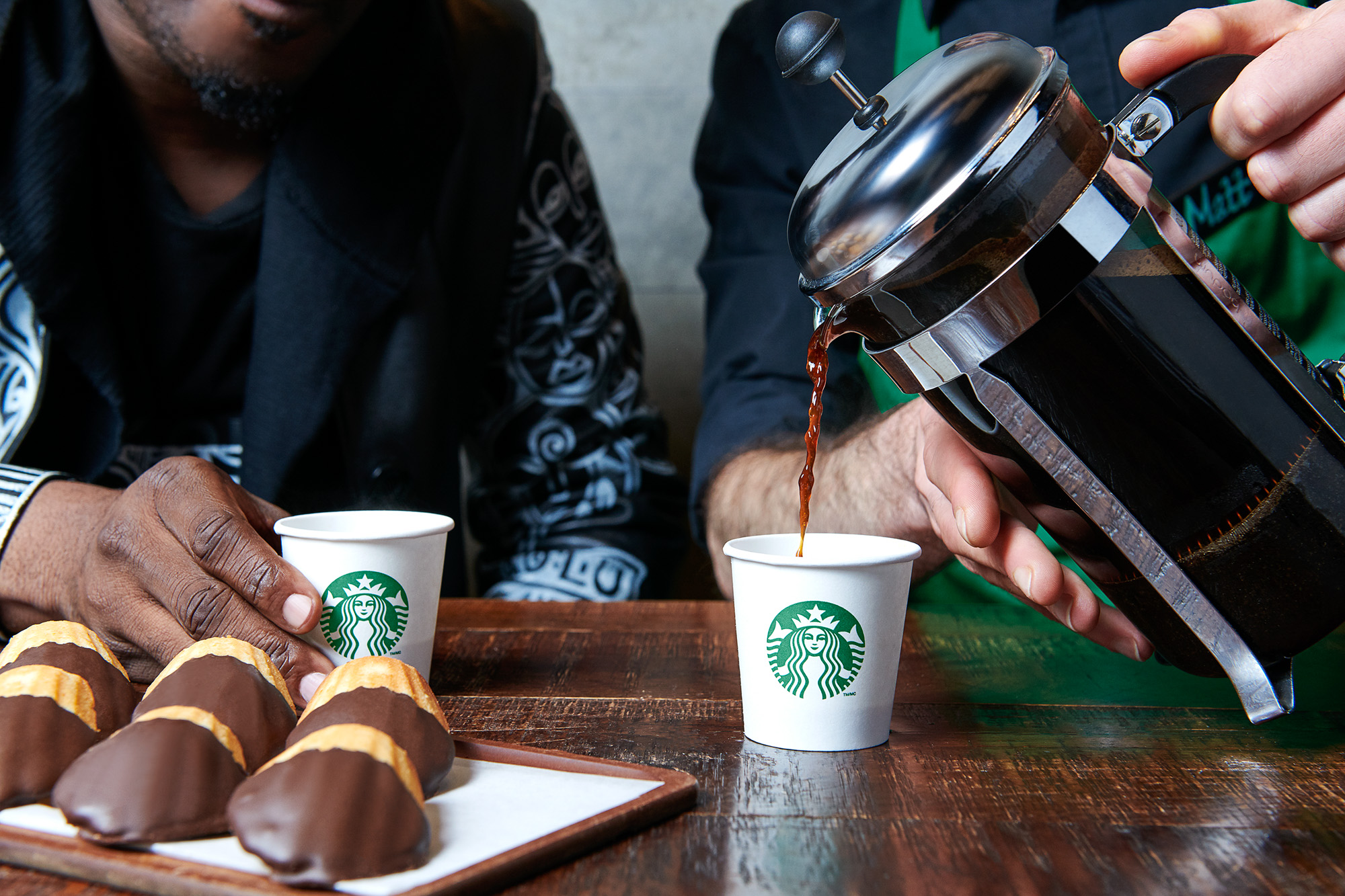NYC Food Photographer - Art + Coffee Starbucks Book