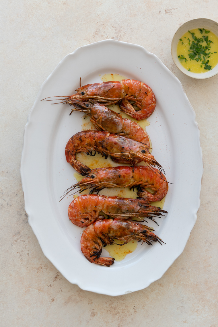 NYC Food Photographer - Dean Street Kitchen Prawn Recipes