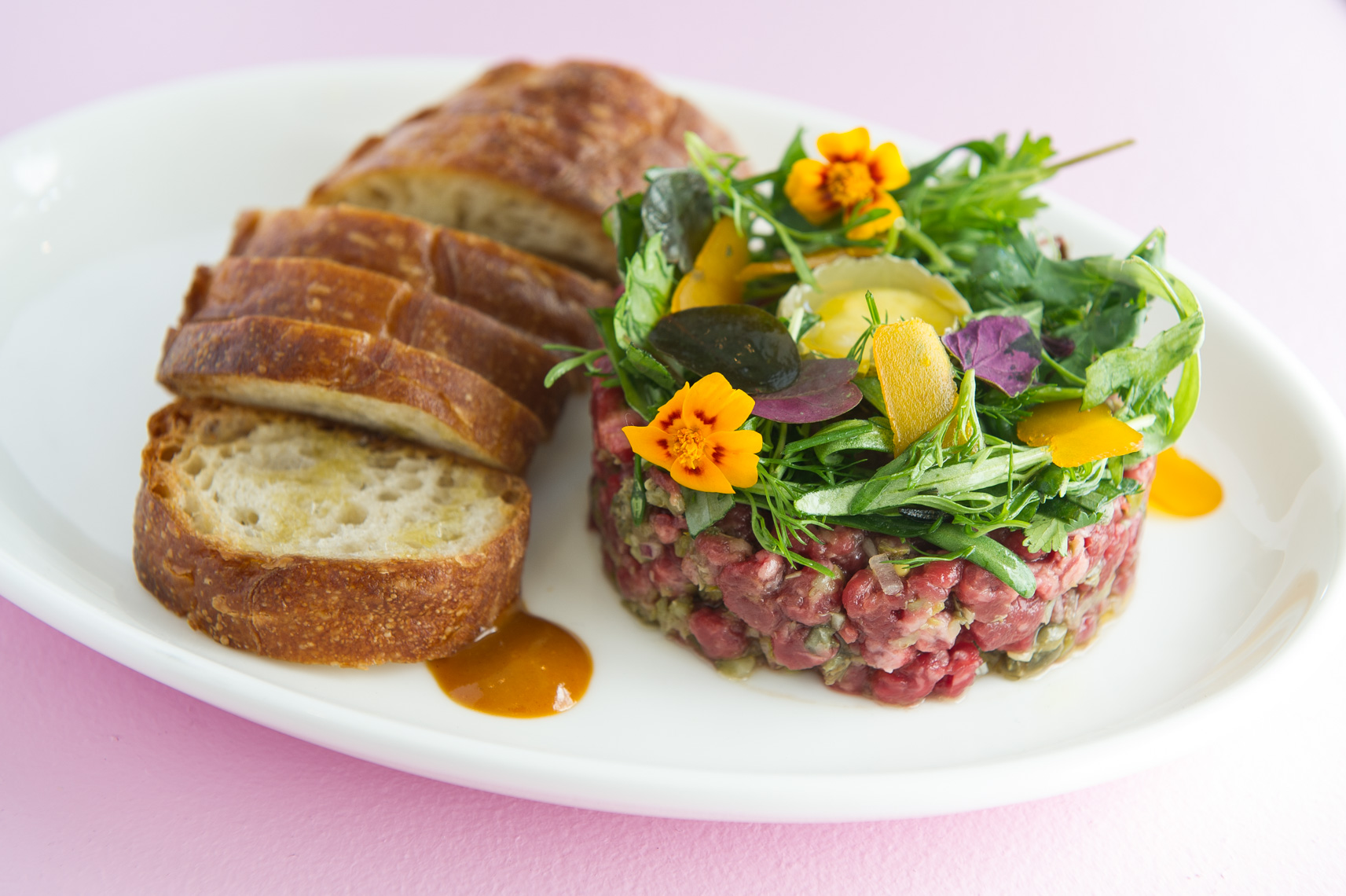 NYC Food Photographer - Steak Tartar The Upsider