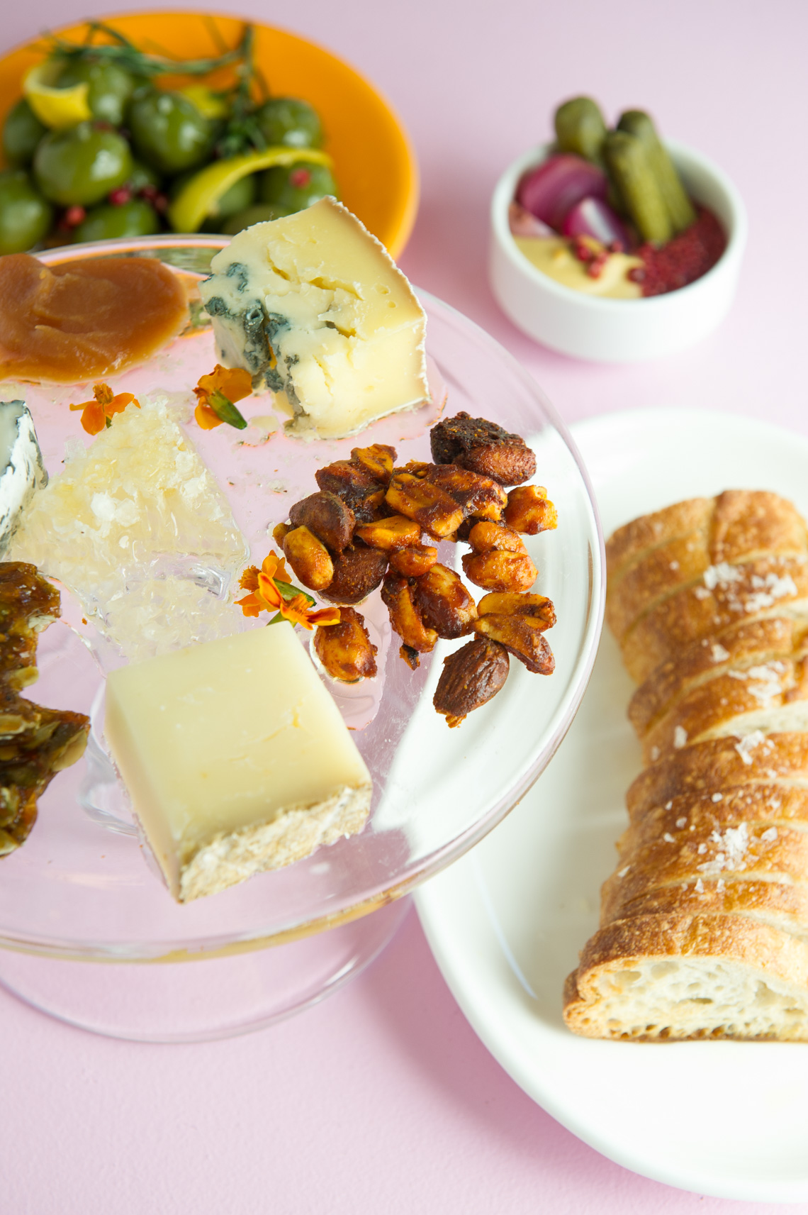 NYC Food Photographer - The Upsider Cheese Plate