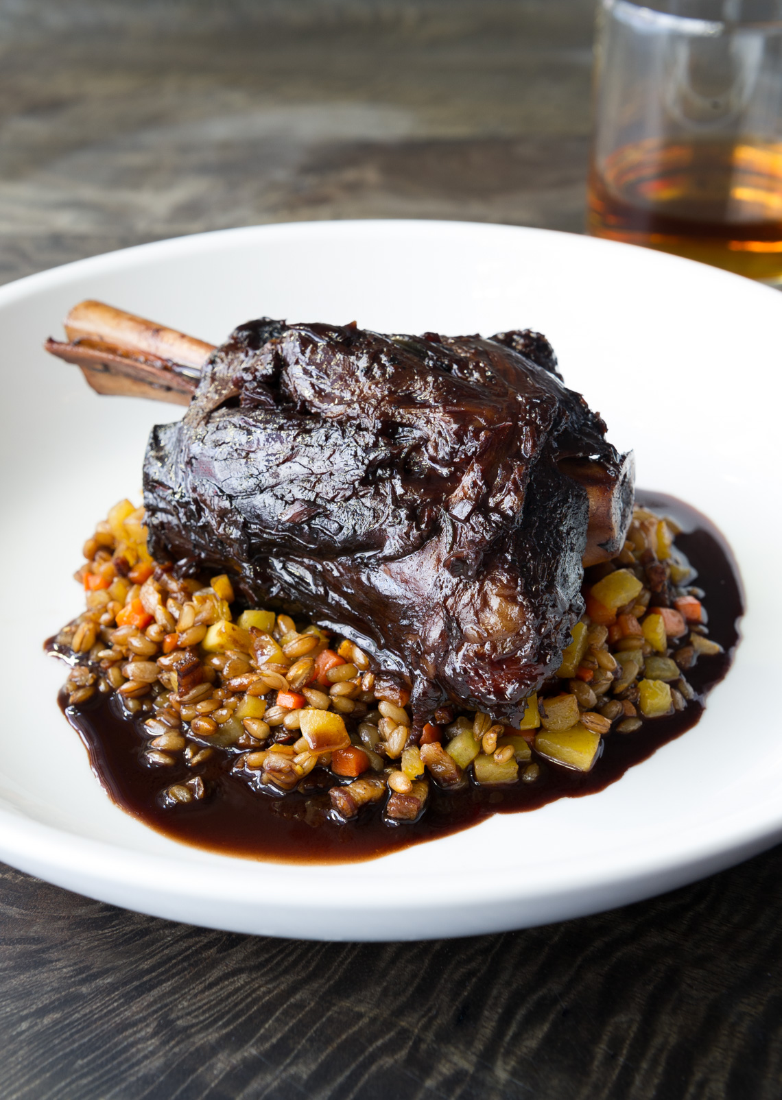 NYC Food Photographer – Kat and Theo Lamb Shank
