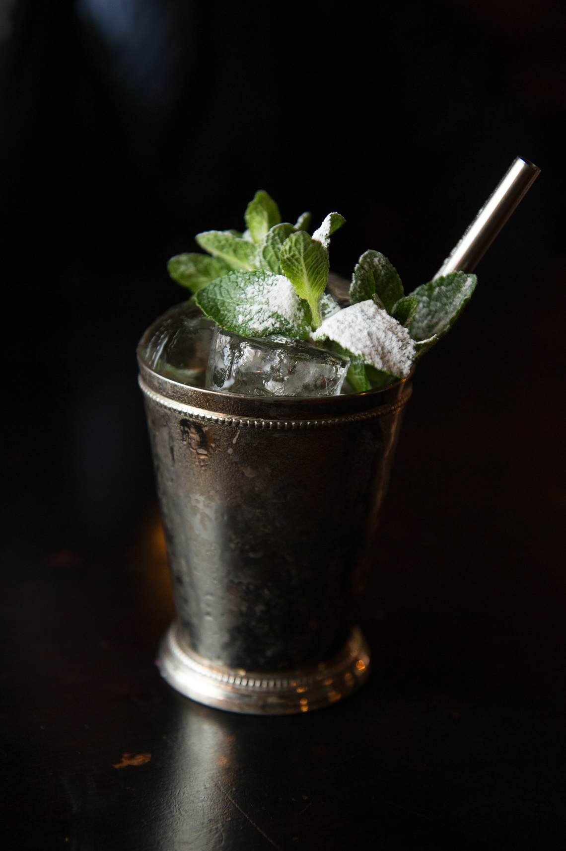 NYC Food Photographer – Mint Julep Cocktail