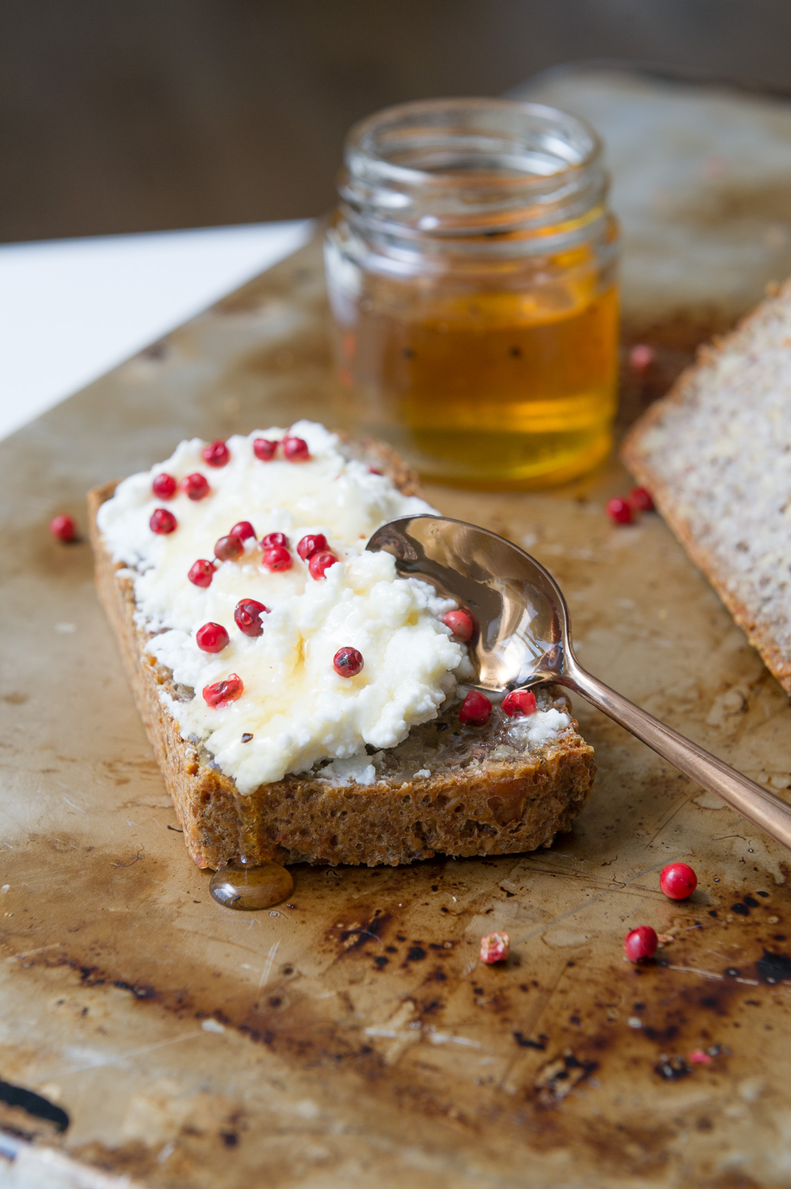 NYC Food Photographer - Seed Bread