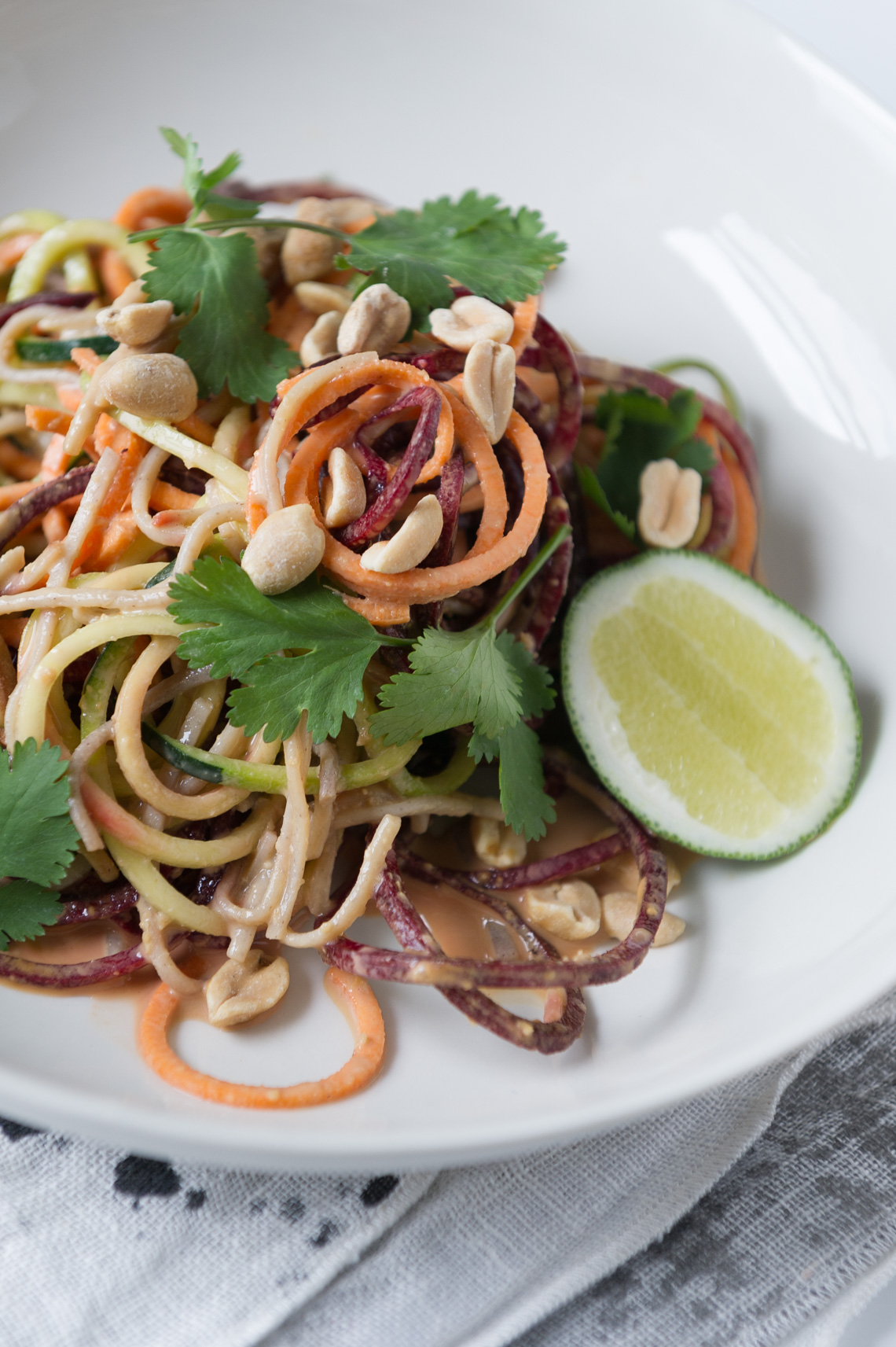 NYC Food Photographer - Thai Salad