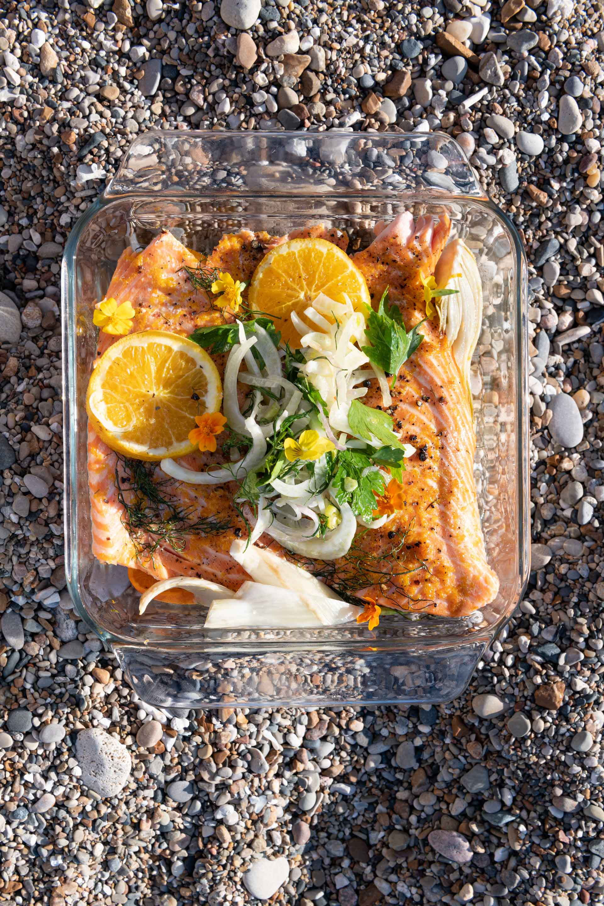 Chicago Food Photographer - FARE Fast Casual Beach Picnic