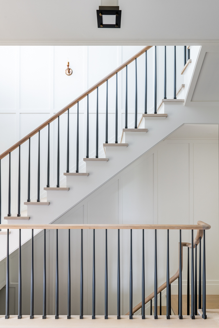 NYC + Chicago Interior Photographer - Hamptons Staircase