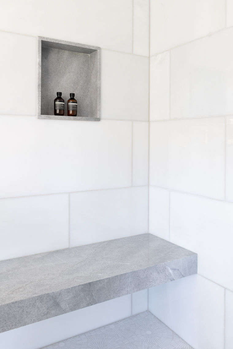 NYC + Chicago Interior Photographer - Master Suite Shower