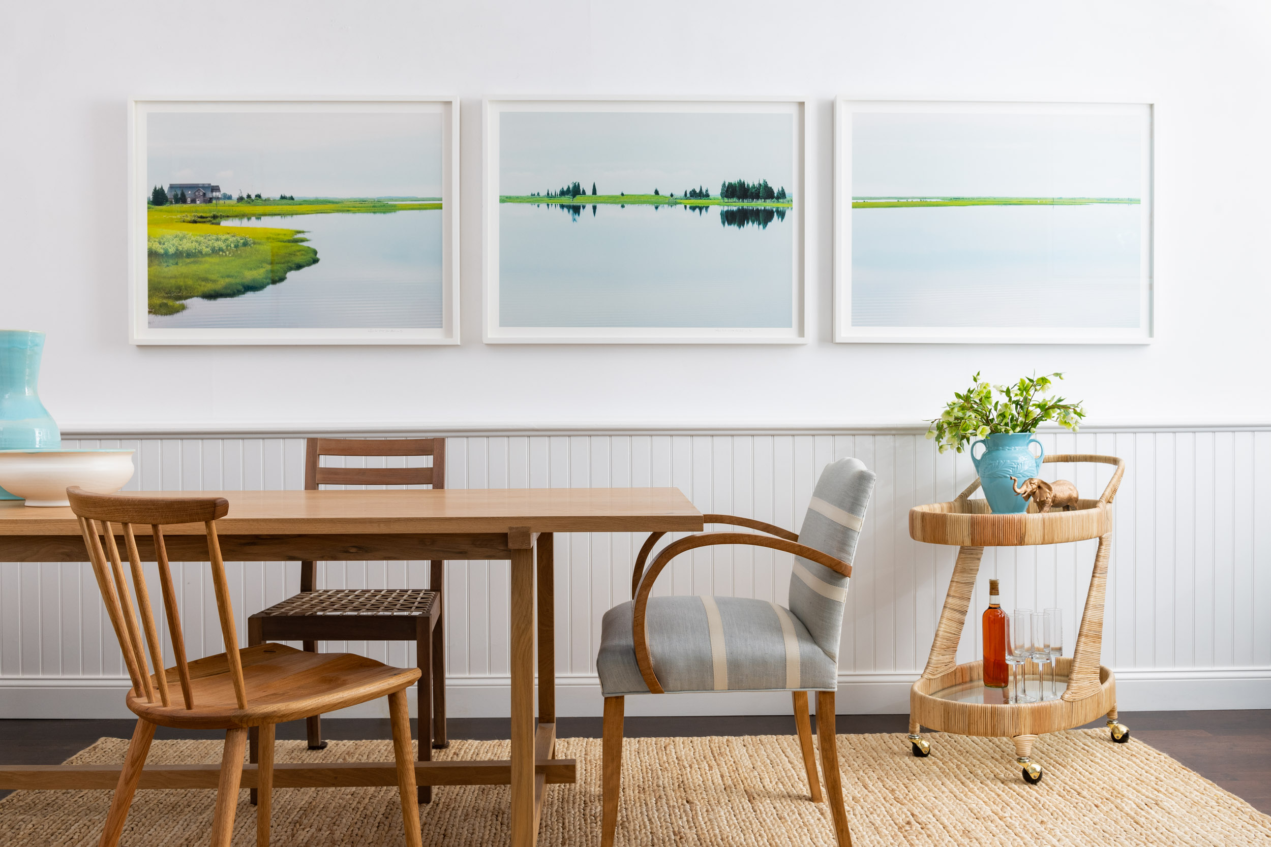 Morgan Ione | NYC + Chicago Luxury Interior Photographer - Dining Room Hamptons