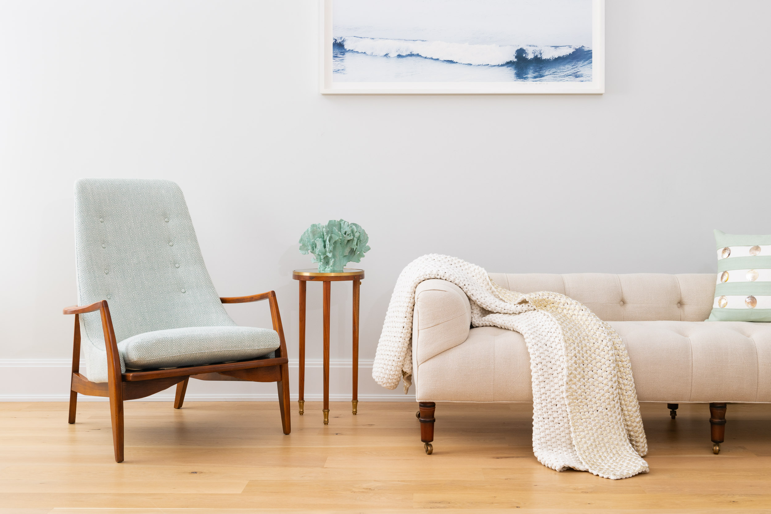 NYC + Chicago Interior Photographer - Custom Couch