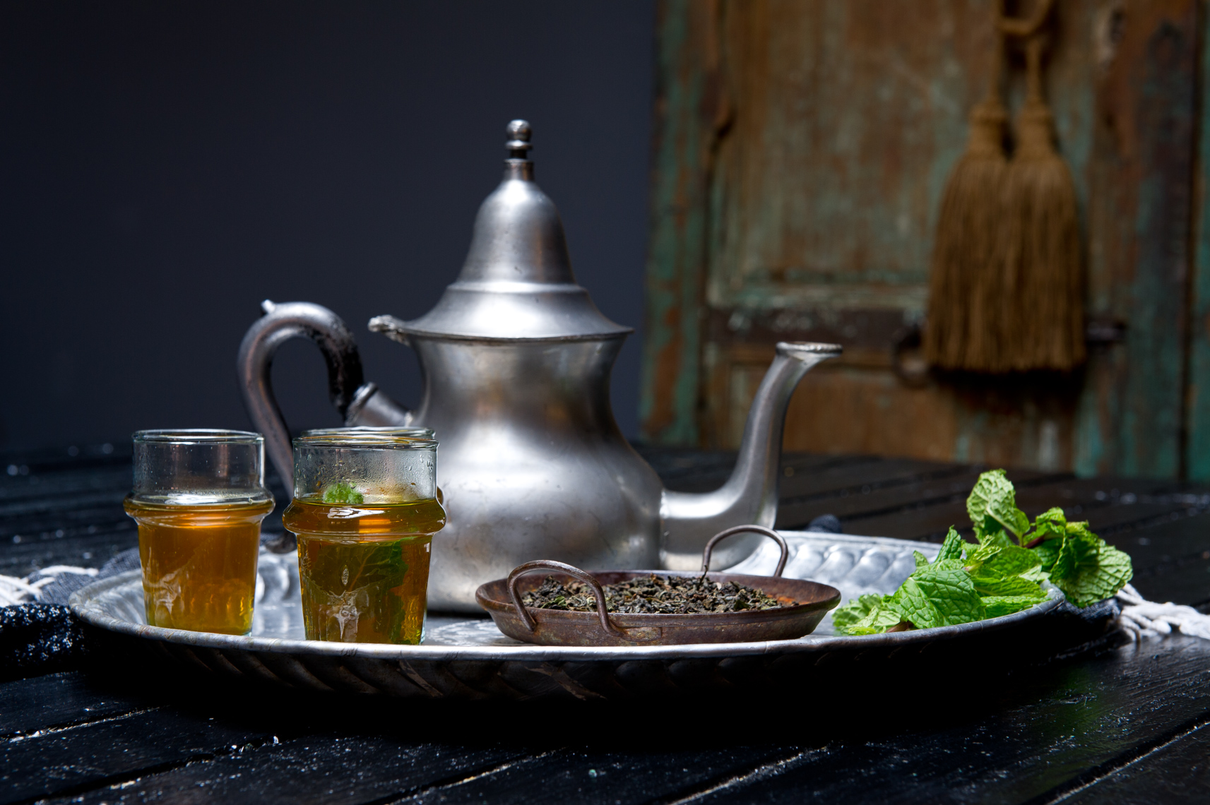 NYC Food Photographer – The Secret Souk Mint Tea