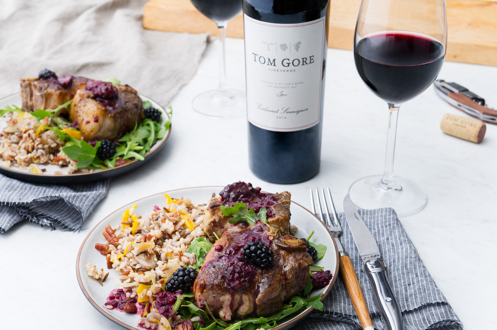 NYC + Chicago Food and Beverage Photographer - Tom Gore Wines for Bon Appetit