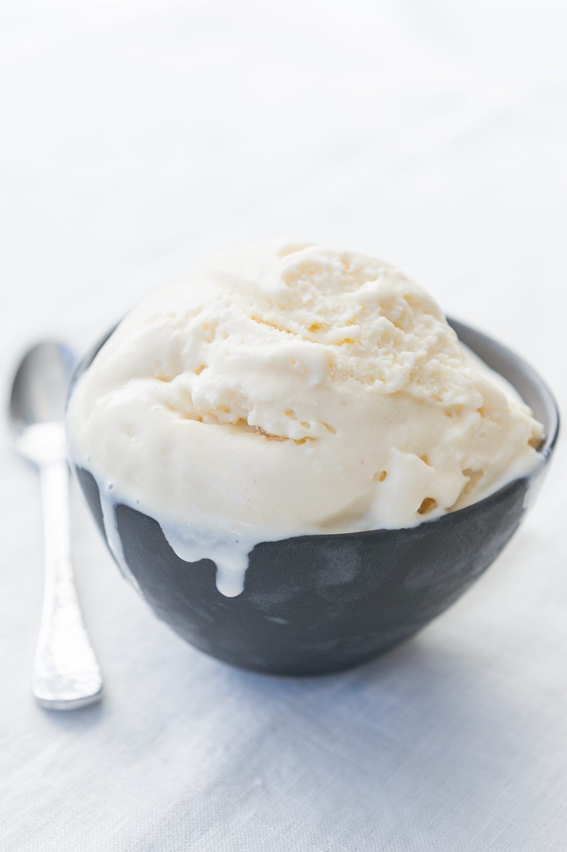 NYC Food Photographer - Vanilla Ice Cream Bowl