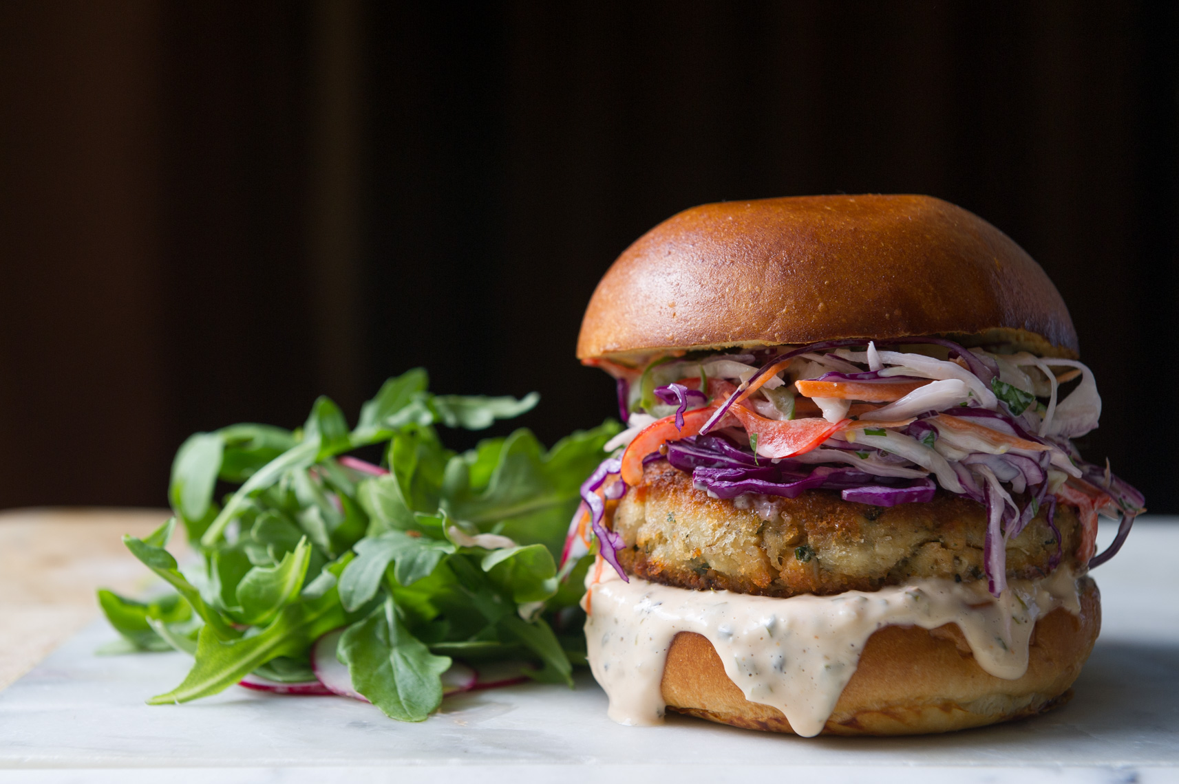 Morgan Ione | NYC + Chicago + Milwaukee Food and Restaurant Photographer - Crab Cake
