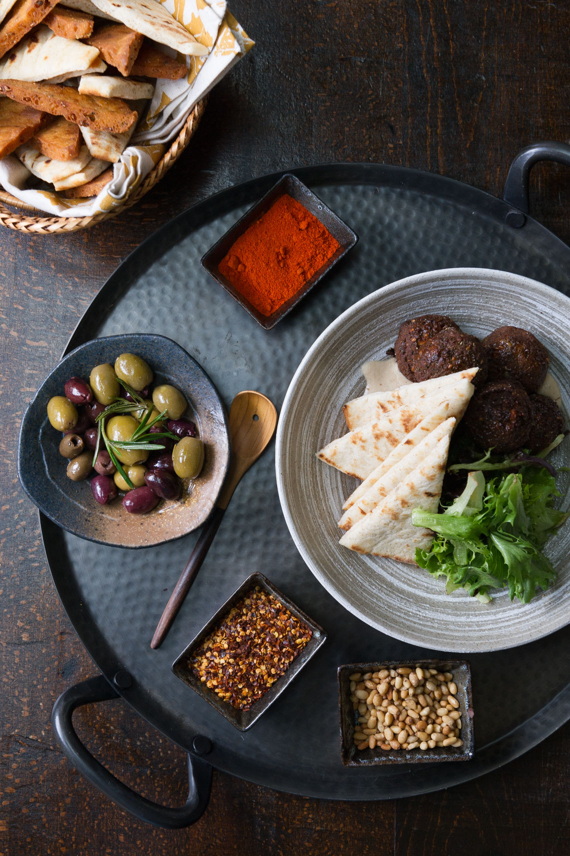 NYC Food Photographer - Pergola Mezze