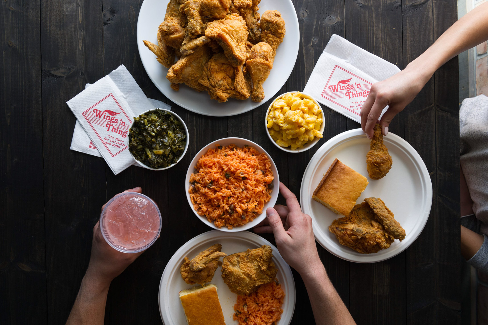 NYC Food Photographer – Fried Chicken and Sides