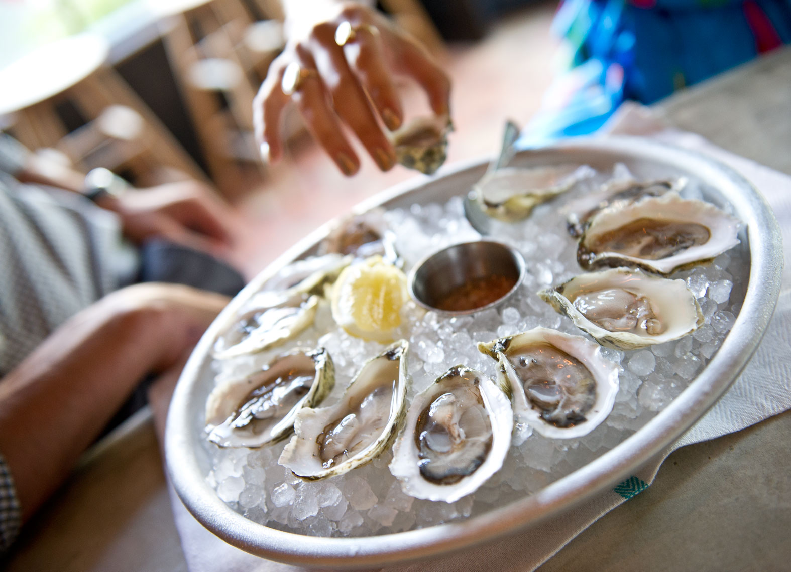 NYC Food Photographer - Summer Oyster Platter
