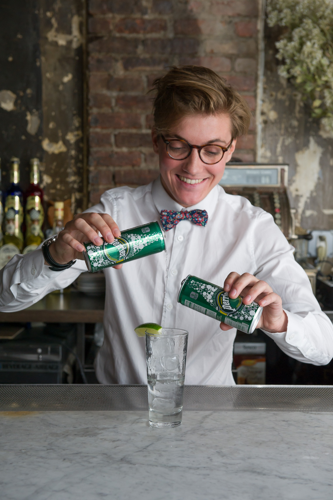 NYC Commercial Food Photographer - Perrier Cocktails