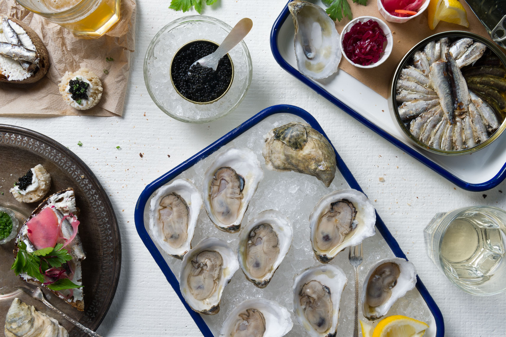 NYC Food Photographer - Island Creek Oysters Portland