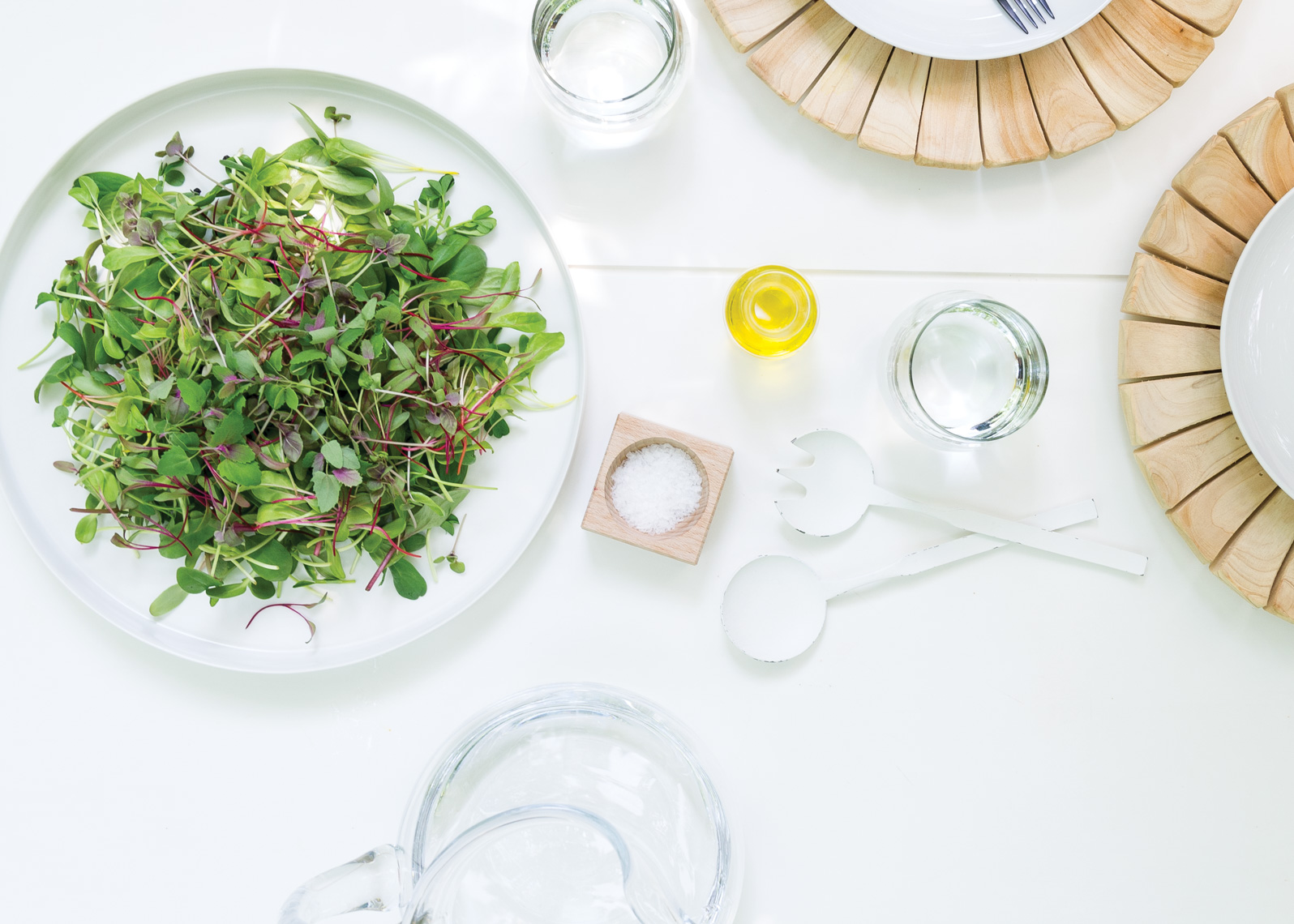 NYC Food Photographer - The Microgreens Cookbook