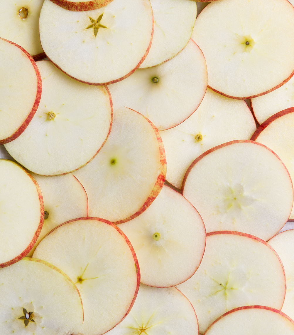 Morgan Ione | NYC + Chicago + Boston Food Photographer - Apple Slices Graphic