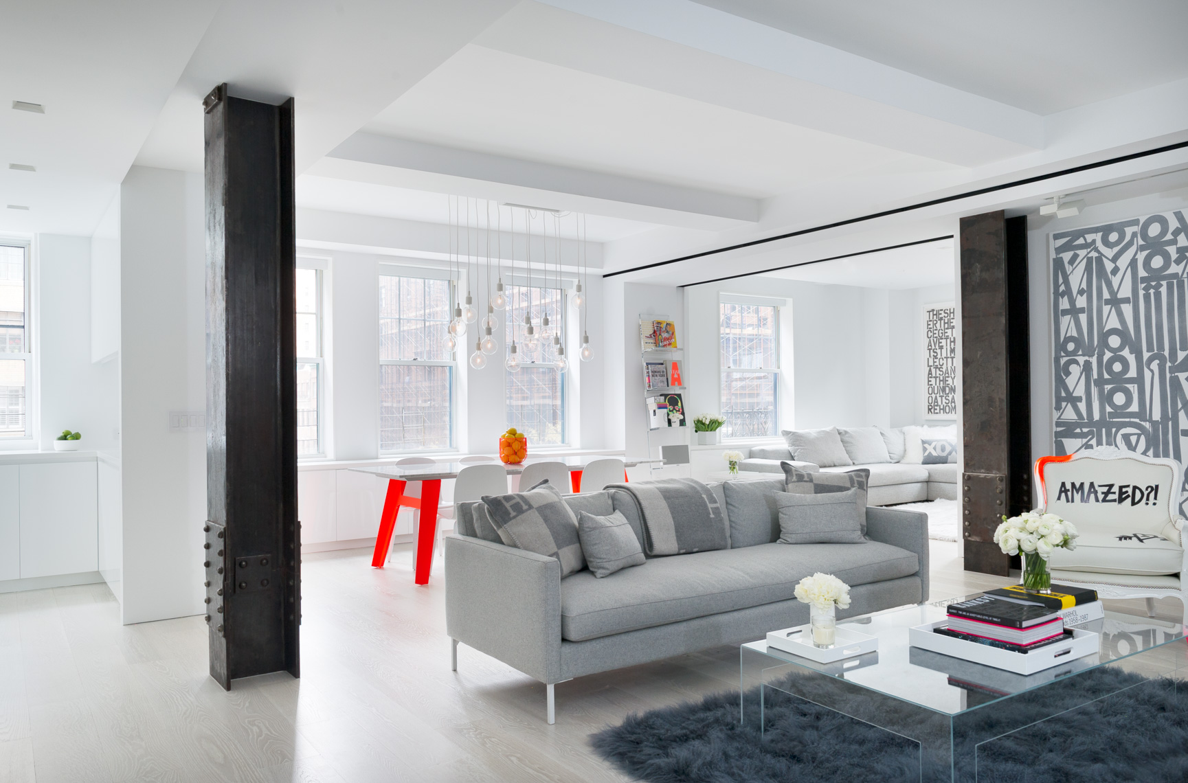 NYC + Chicago Interior Photographer  - Upper West Side Living Room 2