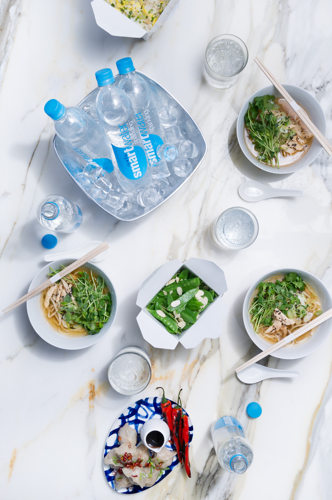 NYC Commercial Food Photographer - Smartwater Advertisement
