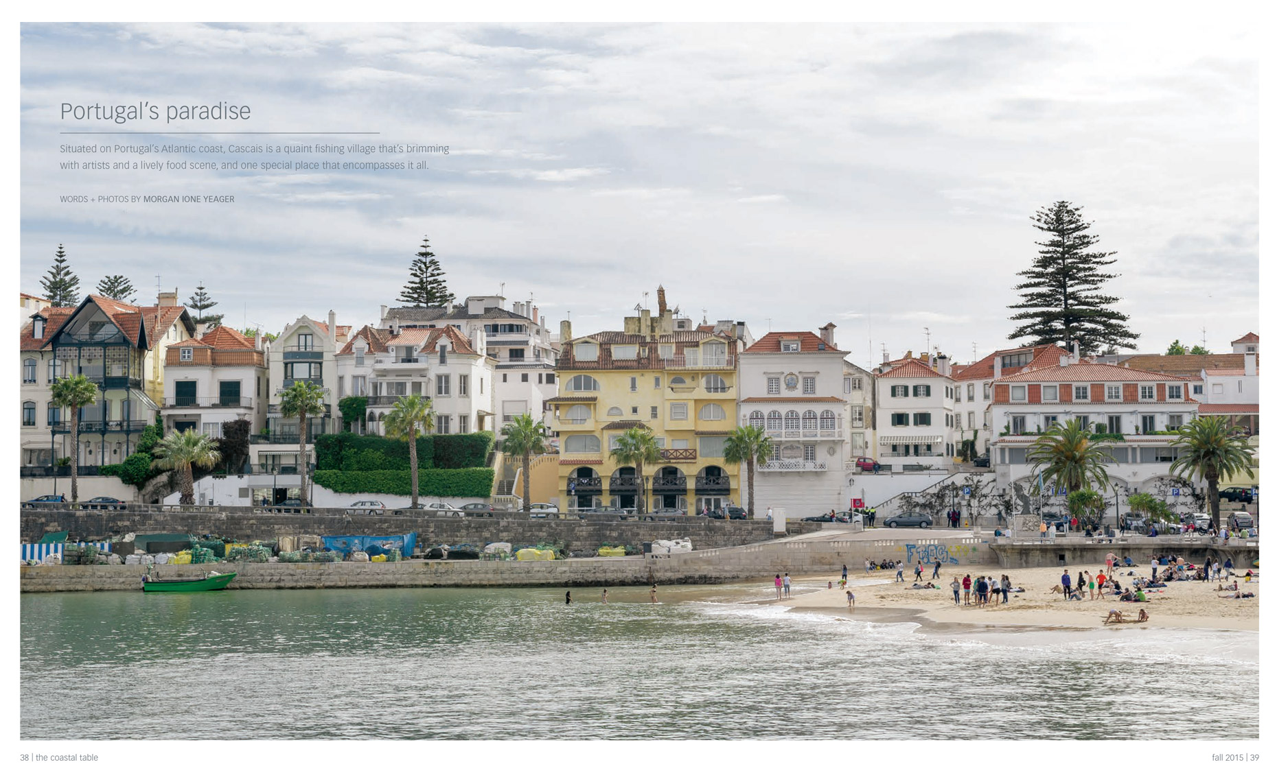 The Coastal Table; Cascais, Portugal
