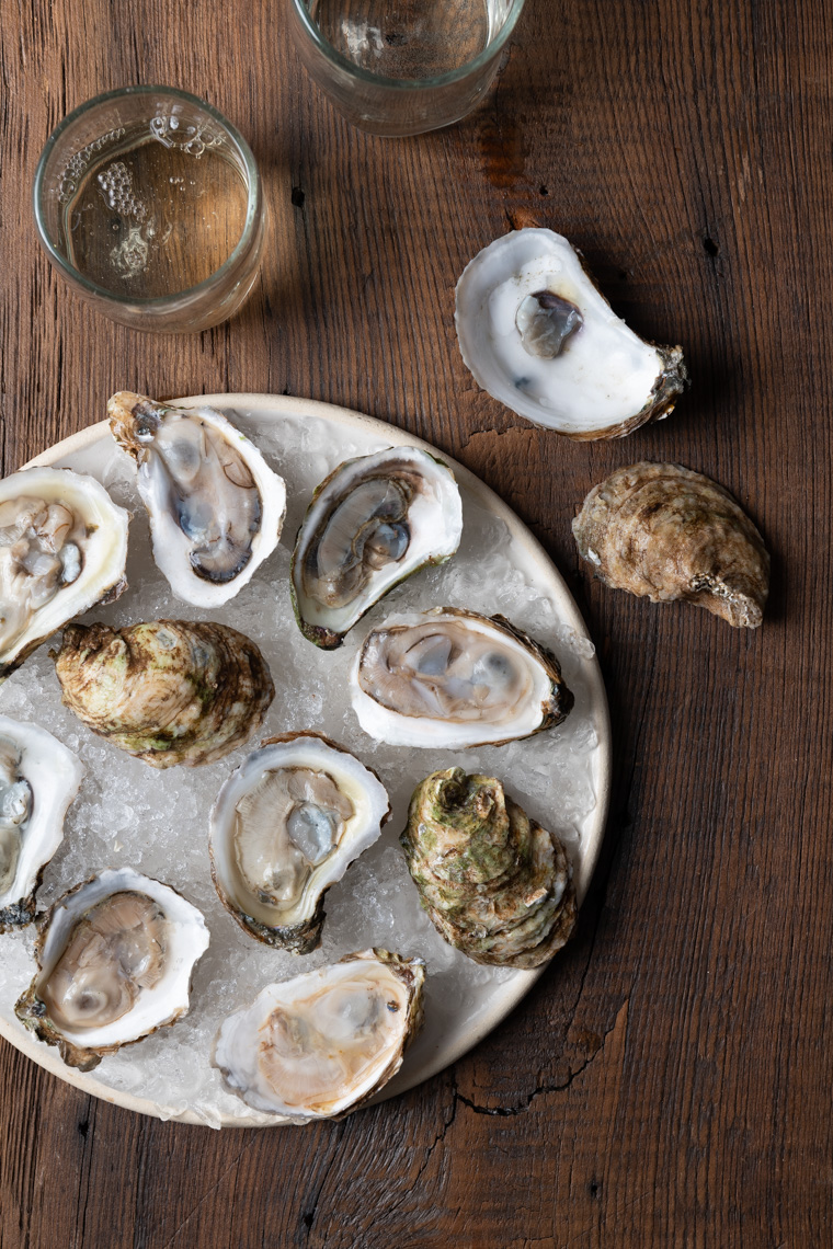 NYC + Chicago Hospitality Photographer - Oysters on Half Shell