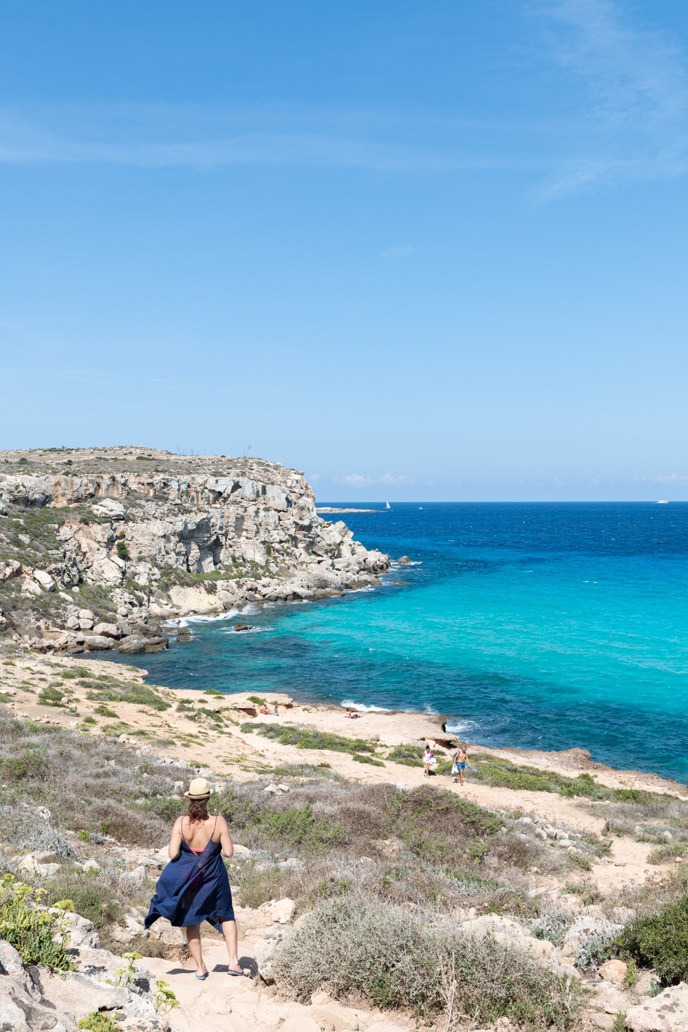 NYC + Chicago Travel Photographer - Sicily Favignana Cala Rossa