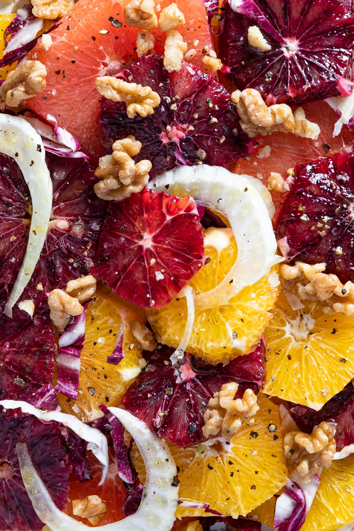 Morgan Ione | NYC Chicago Milwaukee Food Photographer - Winter Citrus Salad