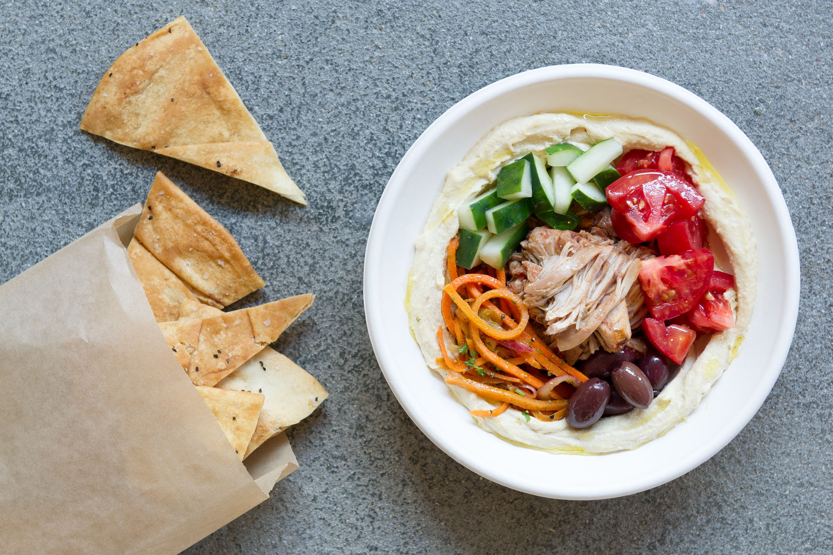 Photo by Morgan Ione Yeager, NYC Food photographer, Boston Food Photographer, Tahaza Hummus Kitchen, Fast Casual, advertising food photography